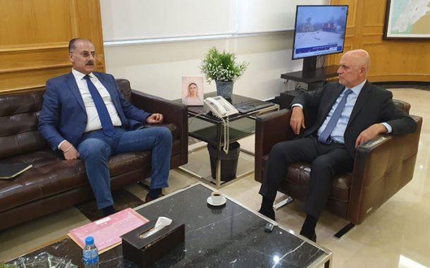 فنيانوس بحث الملفات الاقتصادية  والإنمائية مع فنيش وهاشم وعبدالله
