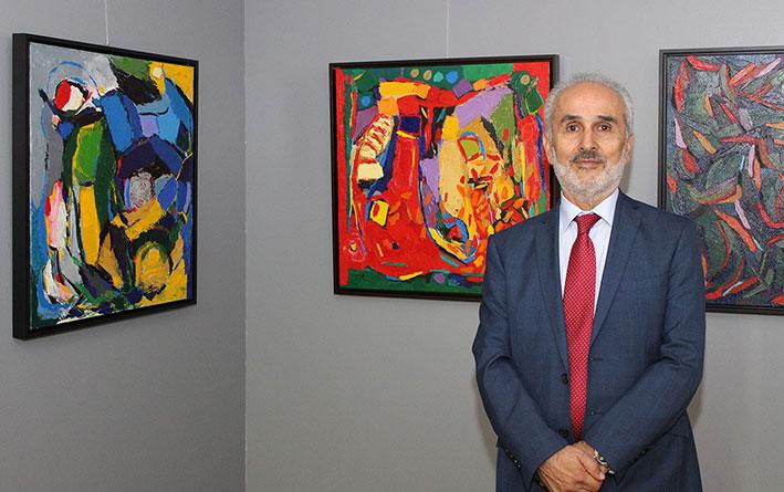 معرض جوزيف فالوغي بعنوان «الانعكاسات والنوافذ» في غاليري إكزود