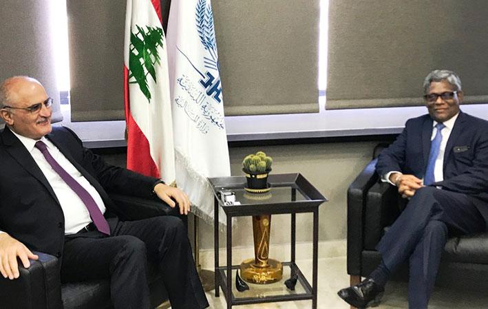 وزير المال بحث مع فياج وكومار جاه  في مشاريع تدعمها MIGA