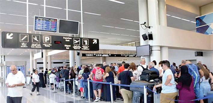 حركة المطار تحت مقتضيات «التعبئة العامة» ولا علامات استفهام حول رحلات «القطرية»