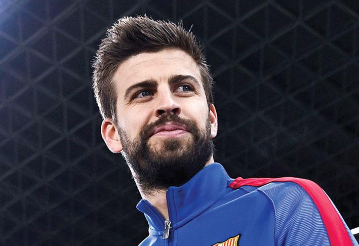 برشلونة: المدافع جيرارد بيكيه يدخل نادي الخمسة الأوائل