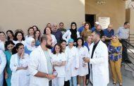اعتصام لموظفي مستشفى بعبدا الحكومي مناشدين