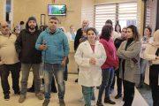 موظفو مستشفى صيدا الحكومي يطالبون بسلفة الـ1.5 مليار
