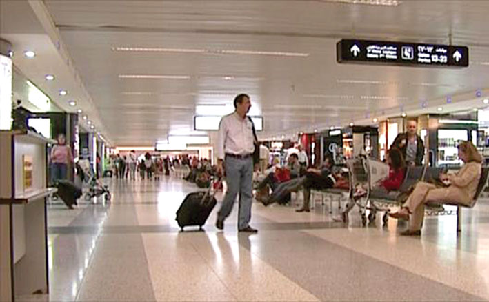 تراجع حركة الركاب في المطار خلال الربع الأول من 2021 بنسبة 43 في المائة