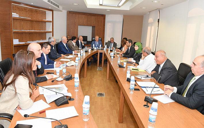 لجنة البيئة تلاحق موضوع  النفايات ذات المصدر الإسرائيلي