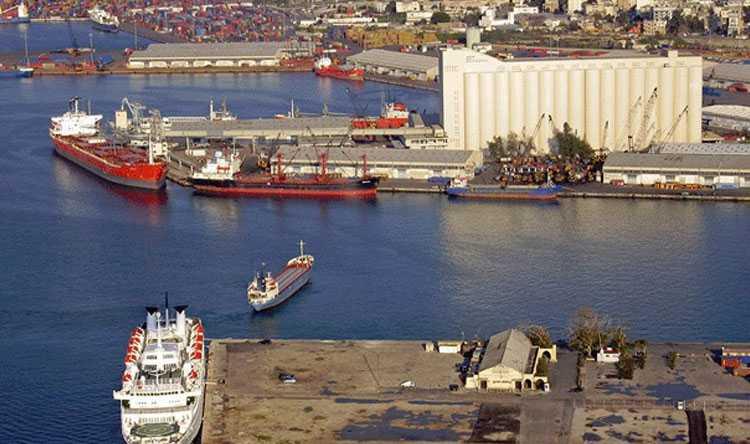 تراجع واردات مرفأ بيروت بنسبة 14%  خلال سنة