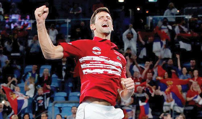 ديكوفيتش: المنافسة ستكون مفتوحة في أوستراليا  وصربيا ترفع كأس النسخة الأولى للمحترفين