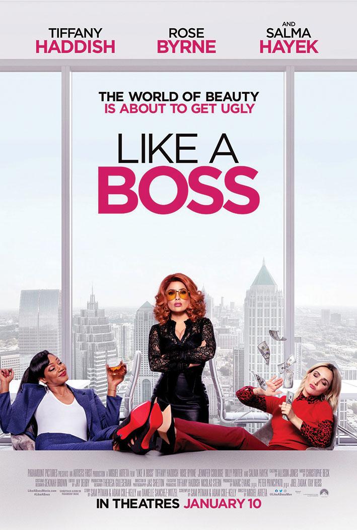 Salma Hayek تروّج لفيلم Like a Boss في نيويورك