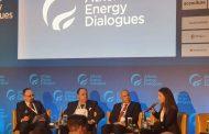 بارودي في منتدى أثينا للطاقة: السلام والاستقرار لتنمية القطاع