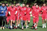 منتخب لبنان لكرة القدم يدخل القسم الثاني من تحضيراته للقاء تركمانستان على أرضها ضمن التصفيات المزدوجة
