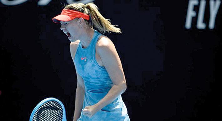 شارابوفا سعيدة بدعوتها للمشاركة في بطولة أوستراليا المفتوحة