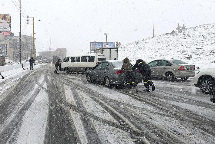 «الويك إند» مع «karim» الأكثر برودة هذا العام! أمطار غزيرة على طول الساحل والثلوج على 600 متر