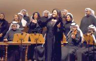 جاهدة وهبة في دار الأوبرا الكويتية من غير ميكروفون