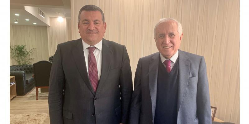 رئيس مجموعة الاقتصاد والأعمال يلتقي وزير الإعلام المصري