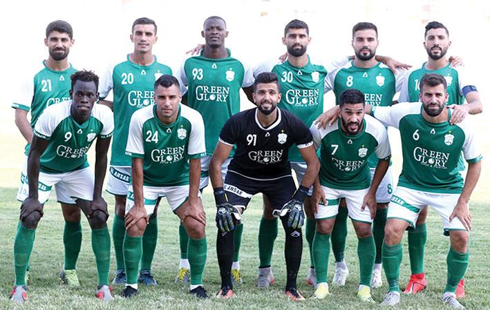 الأنصار يستعد لمباراته مع نادي الكويت ضمن مباريات المجموعة الثانية لمسابقة كأس الاتحاد الآسيوي