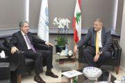 وزير المال بحث مع سفراء  وكوبيتش تطور الأوضاع المالية