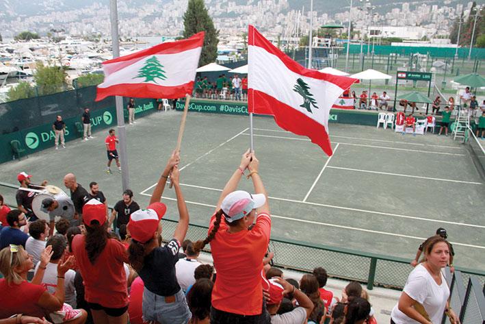 كأس ديفيس: لبنان يستضيف  تايلاند  في 6 و7 آذار على ملاعب النادي اللبناني