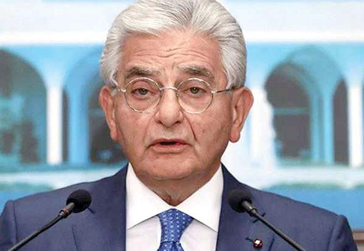 صفير: القاضي إبراهيم استمع الى حقيقة الوضع المصرفي استيضاحاً لا اتهاماً