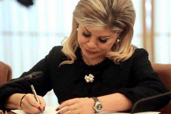 الوزيرة السابقة مي شدياق مصابة بالـ«كورونا»