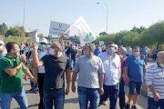 عمال الترابة اعتصموا مطالبين بمعاودة العمل ولوّحوا بالتصعيد