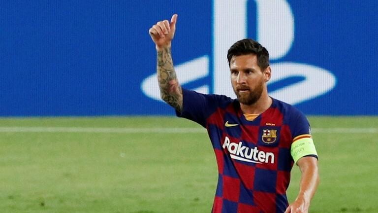 ميسي: حبي لبرشلونة لن يتغير أبدا