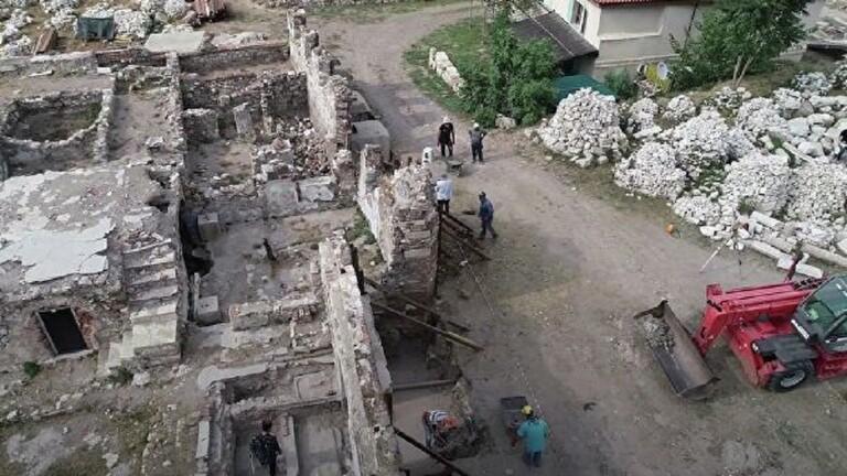 اكتشاف آثار صالة ألعاب رياضية تعود إلى القرن الثاني الميلادي في تركيا