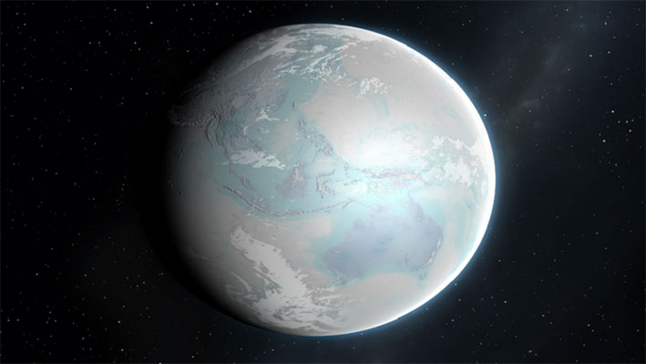 خارطة تفاعلية تمنحك فرصة معرفة أين كان موقع مسقط رأسك على الأرض منذ 750 مليون سنة