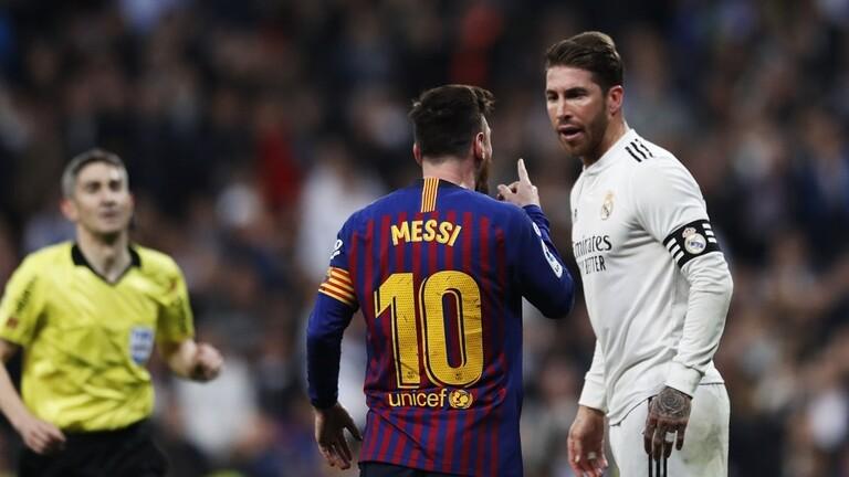 راموس يكشف موقفه من مسألة رحيل ميسي عن برشلونة