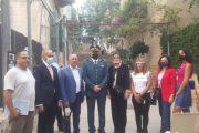 إفتتاح المعرض البريدي بيروت لا تموت في الجميزة