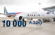 «الميدل إيست» تتسلّم من «إيرباص» طائرة  A320 ذات الرقم التسلسلي 10000