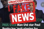 بول بوغبا ينفي الاخبار الكاذبة عن إعتزاله اللعب الدولي مع منتخب فرنسا