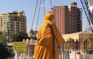 وصول تمثال ديليسبس إلى مقر المتحف العالمي لقناة السويس