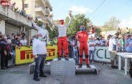 روجيه فغالي بطل السباق الثالث لتسلق الهضبة في المريجات