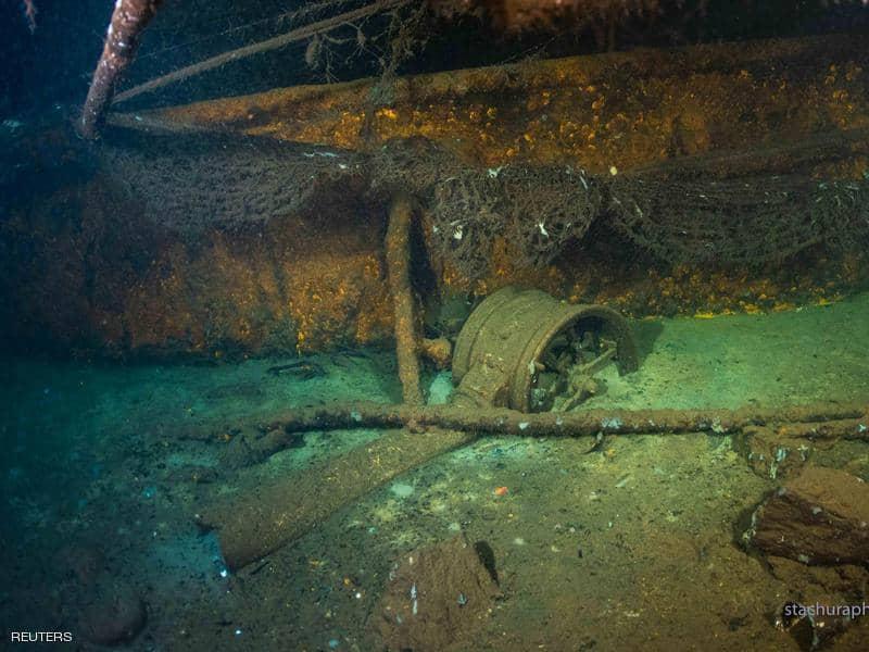 العثور على سفينة غرقت بالحرب العالمية الثانية.. وإليك مفاجأة