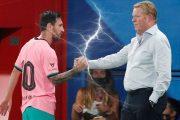 عودة المشاكل بين مدرب برشلونة وميسي