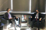 وزني عرض مع ريكولفيس مسألة التدقيق الجنائي والمفاوضات مع صندوق النقد الدولي