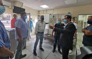 جبران تفقد إصلاح الأضرار في  مؤسسة مياه بيروت في الأشرفية