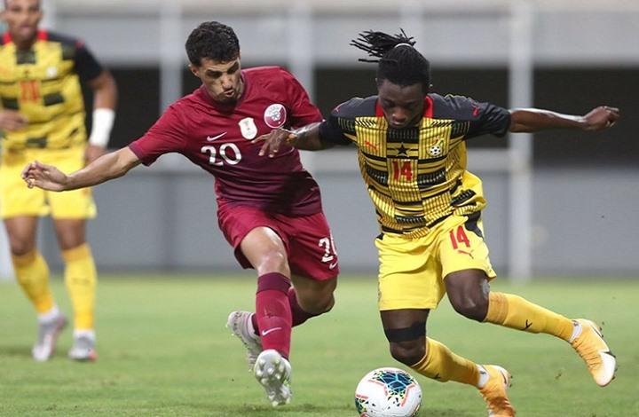 المنتخب الغاني يفوز على نظيره القطري بنتيجة (1-5)