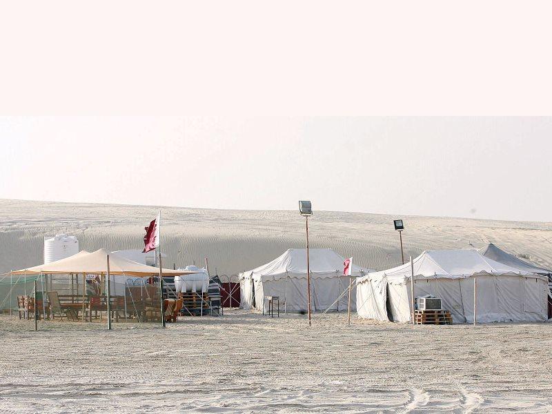 موسم التخييم في قطر يعزز السياحة الداخلية ويعكس الاهتمام بقيم التراث