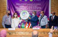 اوهانيان تسلمت من نظيرها المصري علم ووثيقة تنظيم المؤتمر الكشفي العربي الثلاثين