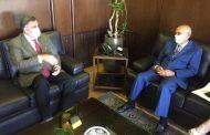 صالح بحث مع السفير الهندي في تعزيز التعاون الاقتصادي والتجاري
