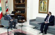 رئيس الجمهورية ناقش الاوضاع الاقتصادية مع عربيد