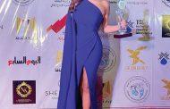 كارول سماحة تنال جائزة الفنانة فاتن حمامة لفئة أفضل ممثلة