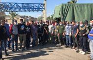 عمال معمل فرز النفايات في سينيق واصلوا إضرابهم