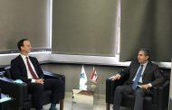 وزني التقى مدير شركة ALVAREZ & MARSAL