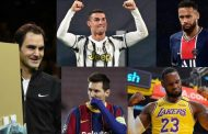 نجوم الرياضة في قائمة الأعلى أجرا لعام 2020