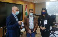 رئيس المركز التربوي أطلق مسابقة أولمبياد الرياضيات العربي عن بعد