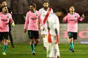 برشلونة يتأهل إلى ربع نهائي كأس إسبانيا بفوز شاق على رايو فاليكانو