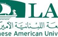 الجامعة اللبنانية الأميركية تدعم طلابها بمزاد فني