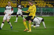 هالاند يسجل هدفا حاسما ويقود دورتموند لربع نهائي كأس ألمانيا